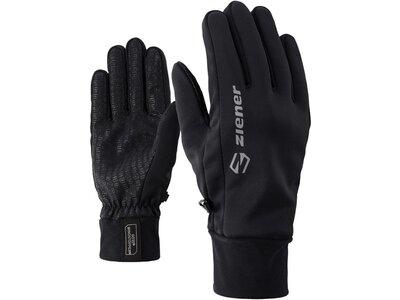 ZIENER Softshellhandschuhe Irios Gws Glove Multisport Schwarz