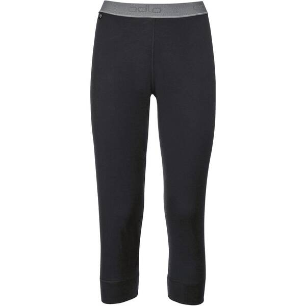 ODLO Damen Funktionsunterhose Pants 3/4 Natural 100% Merino