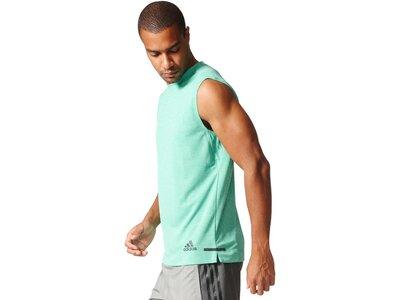 ADIDAS Herren Trainingsshirt Climachill Silber