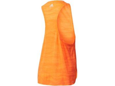 ADIDAS Damen Tanktop Boxy Tank Aeroknit Orange