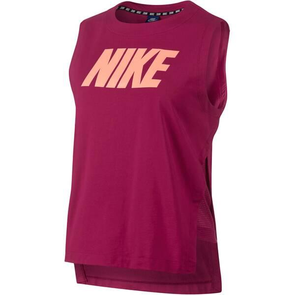 NIKE Damen Trainingsshirt Advance 15 Ärmellos