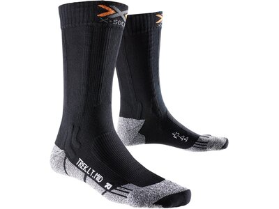 X-SOCKS Herren Wandersocken Xtra Light mid Schwarz