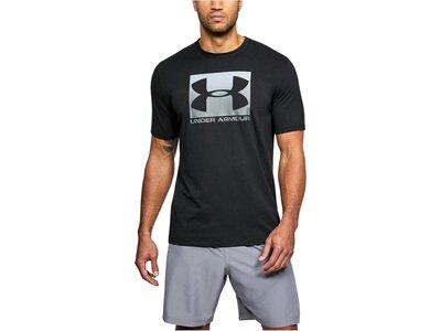 UNDERARMOUR Herren Shirt Boxed Sportstyle Kurzarm Schwarz