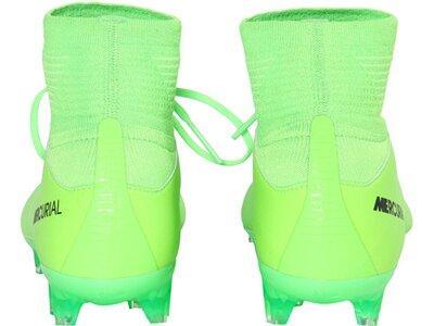 NIKE Kinder Fußballschuhe Rasen Mercurial Superfly V (FG) Grün