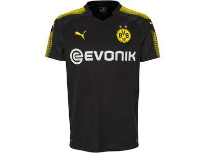 PUMA Herren Fußballshirt Borussia Dortmund Away Shirt Replica 17/18 Kurzarm Schwarz