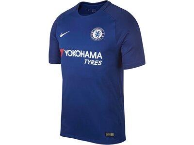 NIKE Herren Fußballtrikot Chelsea Stadium Home Saison 2017/18 Blau