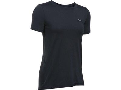 UNDERARMOUR Damen Trainingsshirt Kurzarm Schwarz
