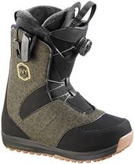 SALOMON Damen Snowboardboots Ivy Boa SJ Leopard