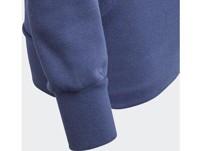 ADIDAS Kinder Essentials 3-Streifen Mid Kapuzenjacke Weiß