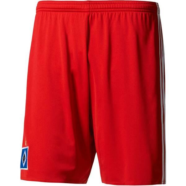 ADIDAS Kinder Fußballshorts Hamburger SV Home Short | Sportbekleidung > Sporthosen > Fußballhosen | White | Adidas