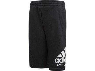 ADIDAS Jungen Trainingsshorts Sport ID Short Schwarz