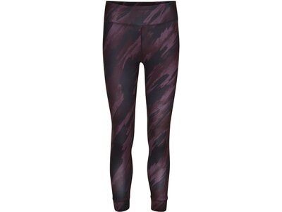NEWLINE Damen Lauftights Imotion Printed 7/8 Länge Lila