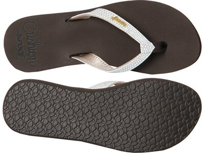 REEF Damen Zehensandalen Star Cushion Sassy Braun