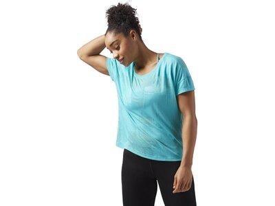REEBOK Damen Speedwick Women's T-Shirt Blau
