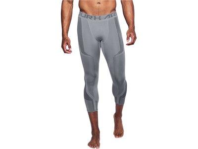 UNDERARMOUR Herren Fitnesstights UA Threadborne Seamless 3/4-Länge Grau