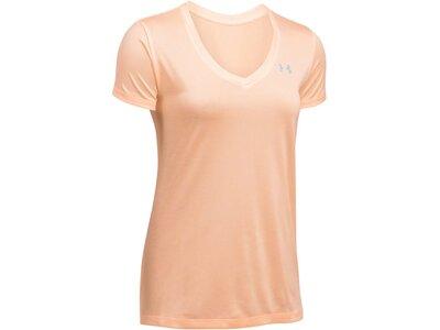 UNDERARMOUR Damen Trainingsshirt Kurzarm Orange