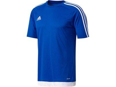 ADIDAS Kinder Fußballshirt Estro 15 Jersey Kurzarm Weiß