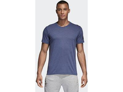 ADIDAS Herren T-Shirt FreeLift Aeroknit Blau