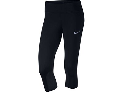 NIKE Damen Laufcapri / Tights Power Epic Schwarz