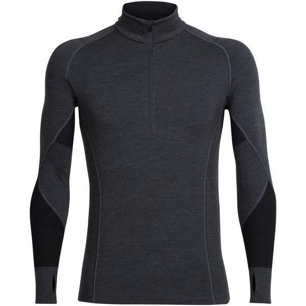 ICEBREAKER Herren Shirt BodyfitZONE Winter Zone Long Sleeve Half Zip Langarm