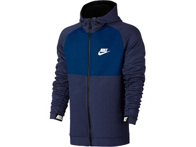 NIKE Lifestyle - Textilien - Jacken Advance15 Hoody Kapuzensweat Blau