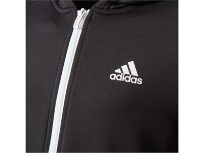 ADIDAS Kinder Sweatjacke / Trainingsjacke Gear Up Schwarz