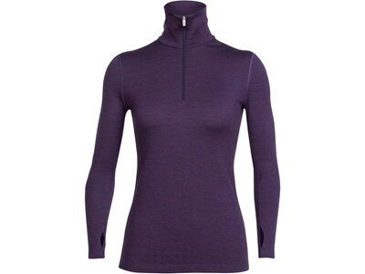 ICEBREAKER Merino Damen Funktionsshirt Tech Top Rot