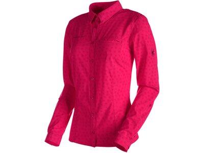 MAMMUT Damen Wanderbluse Trovat Advanced Longsleeve Shirt Women Pink