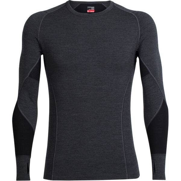 ICEBREAKER Herren Funktionsunterhemd  Bodyfitzone Winter Zone Long Sleeve Crewe