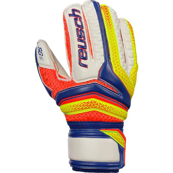 REUSCH Kinder Torwarthandschuhe Serathor SG Finger Support