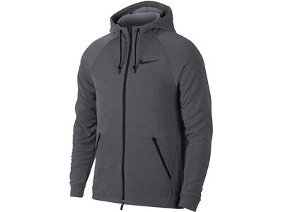 NIKE Herren Trainingsjacke Dry Training Grau