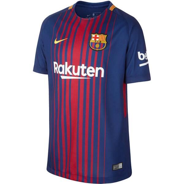 NIKE Kinder Fußballtrikot FC Barcelona Stadium Home Saison 2017/18
