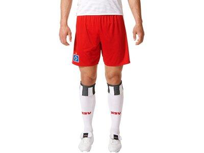 ADIDAS Kinder Fußballshorts Hamburger SV Home Short Weiß