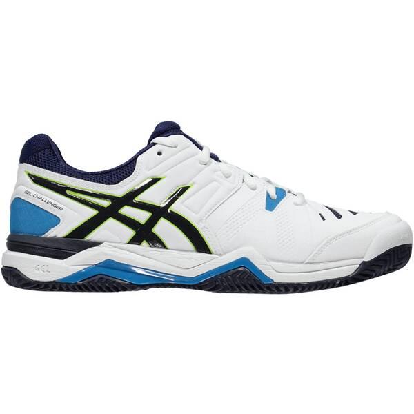 ASICS Herren Tennisschuhe Outdoor Gel Challenger 10 Clay | Schuhe > Sportschuhe > Tennisschuhe | White - Blue | ASICS