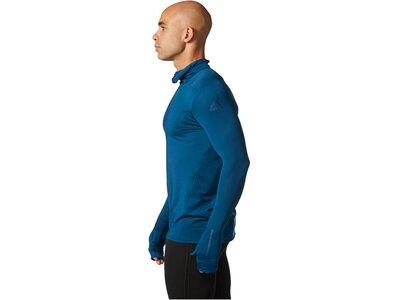 ADIDAS Herren Laufshirt / Trainingsshirt Tokyo Longsleeve Langarm Blau