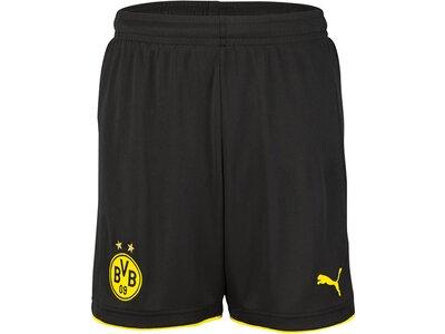 PUMA Kinder Fußballshorts Borussia Dortmund Home Short Replica Saison 2016/17 Schwarz