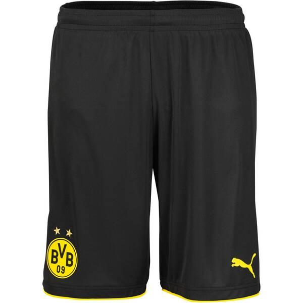 PUMA Herren Fußballshorts Borussia Dortmund Home Short Replica Saison 2016/17 | Sportbekleidung > Sporthosen > Fußballhosen | PUMA