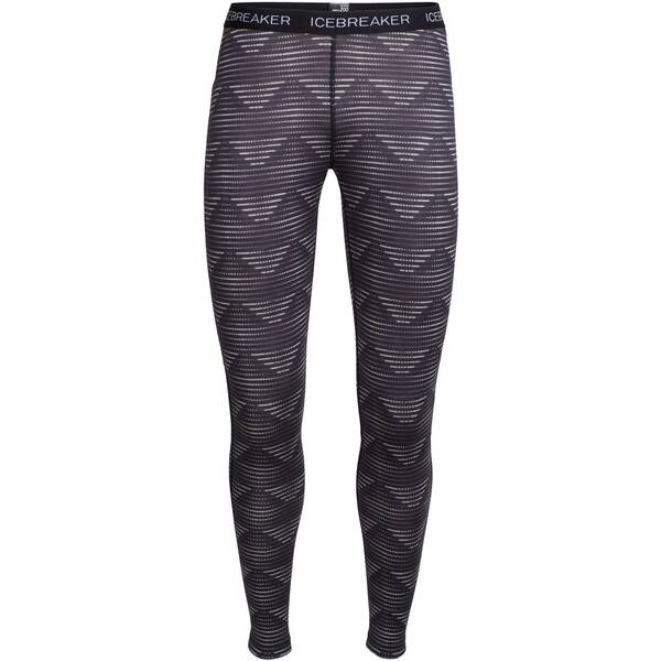 ICEBREAKER Merino Damen Funktionstights Oasis Diamond Line