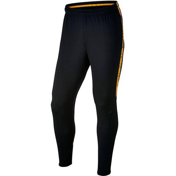 fe86fa93854f00 NIKE Herren Fußball Trainingshose Dry Squad BLACK/BLACK/LASER ORANGE/BLACK