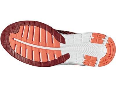 ASICS Damen Laufschuhe FuzeX Rot