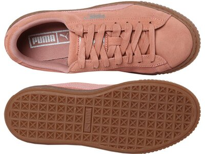 "PUMA Damen Sneaker ""Suede Platform Animal"" Braun"