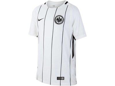 NIKE Kinder Fußballtrikot Eintracht Frankfurt Stadium Home Saison 2017/18 Weiß