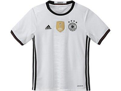 ADIDAS Kinder Fußballtrikot Home Trikot Deutschland EM 2016 Weiß