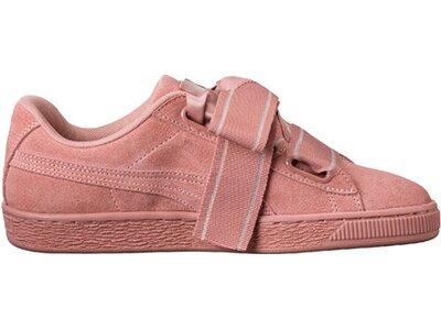 PUMA Damen Sneakers Suede Heart II Braun