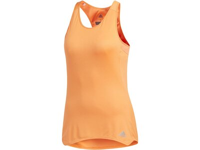 ADIDAS Damen Response Cup Tanktop Orange