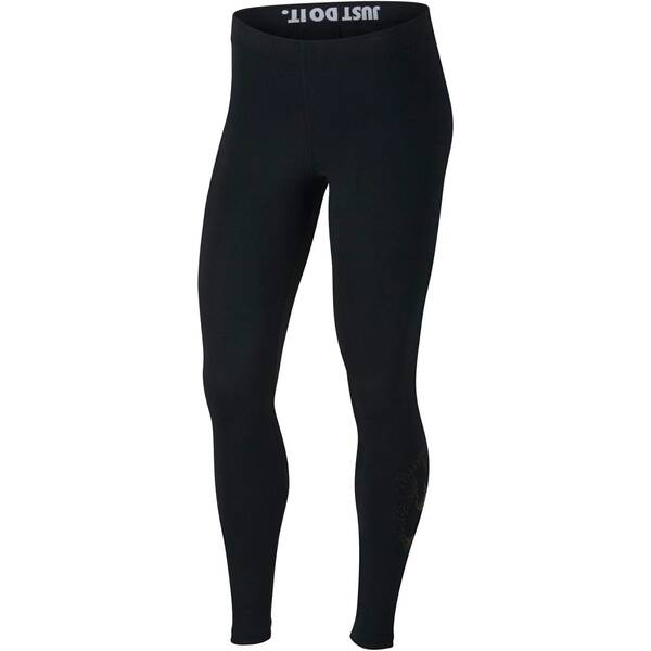NIKE Damen Trainingstights / Fitnesstights Sportswear Leggings