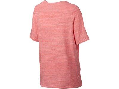 NIKE Damen Trainingsshirt / T-Shirt Sportswear Advance 15 Top Pink