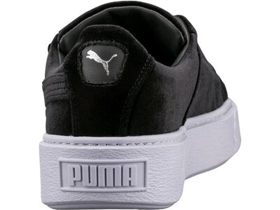 PUMA Damen Sneakers Basket Platform Schwarz