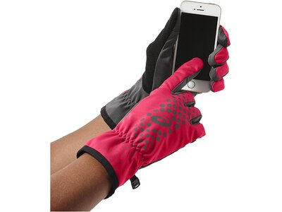 ASICS Herren Laufhandschuhe Winter Performance Glove Pink