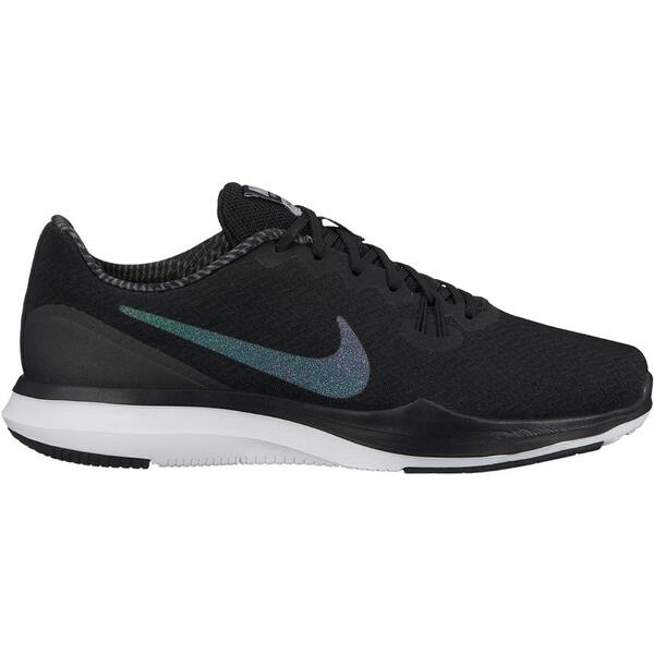 NIKE Damen Trainingsschuhe In-Season 7 Metallic Schwarz